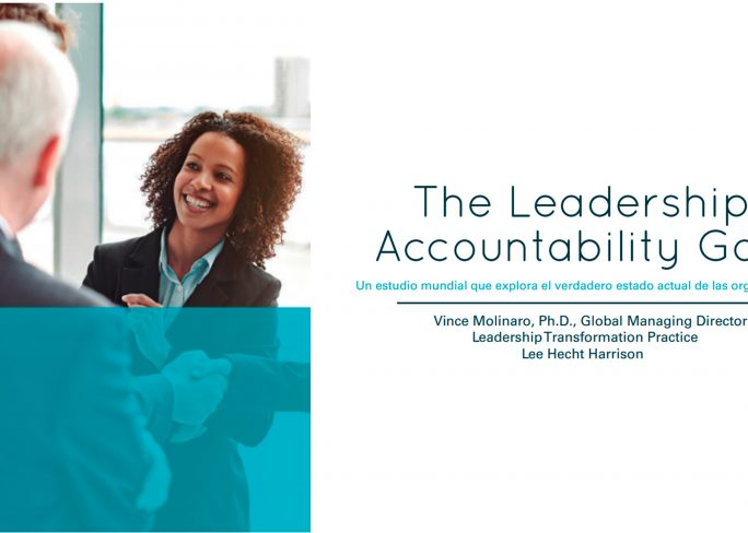 The Leadership Accountability GAP Estudio 684x488 - The Leadership Accountability Gap
