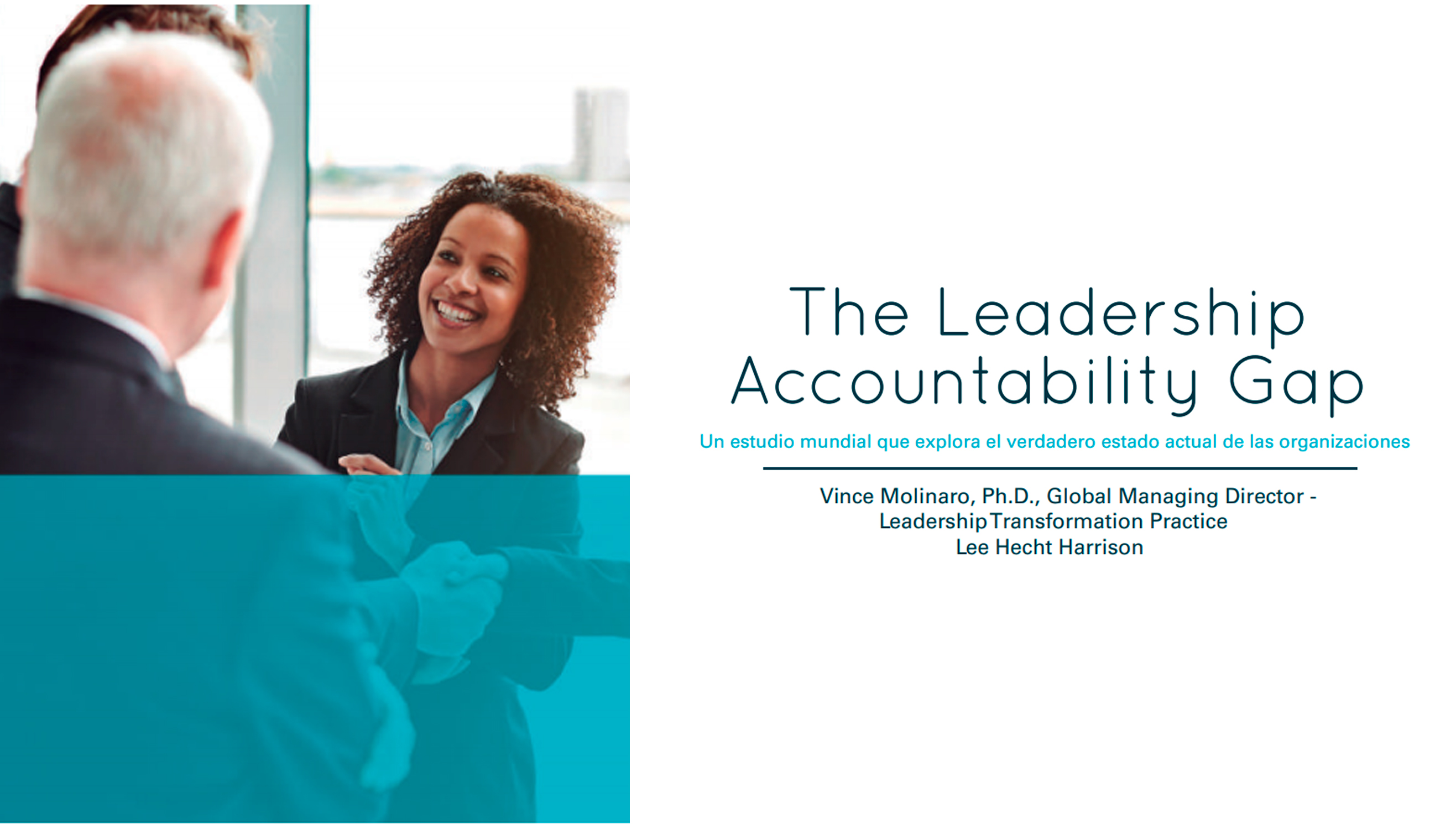 The Leadership Accountability GAP Estudio - The Leadership Accountability Gap