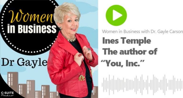 cover video jpg e1582645291521 768x412 - Women in Business with Dr. Gayle Carson - Entrevista con Ines Temple